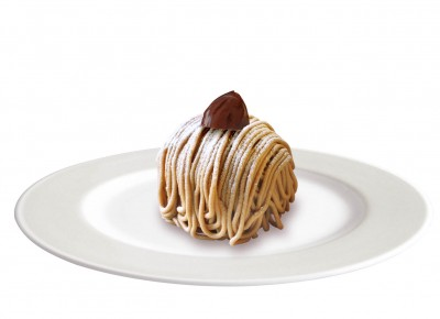 モンブラン(白皿)